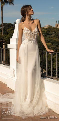 d1b3062de3f MUSE by BERTA Wedding Dresses 2019 - Barcelona Bridal Collection