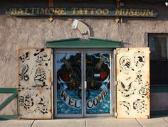 According to those in the know, Baltimore is a town in which tattoos outnumber teeth!  The Baltimore Tattoo Museum is fun for even the un-inked to browse or ponder a permanent souvenir.