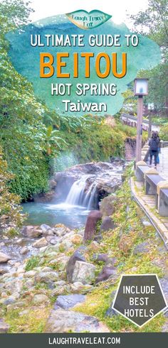 Beitou Hot Spring: a wellness escape in Taipei Beitou hot spring is the best relaxation spot in Taipei. Here's a guide to the best hot spring, private hot spring room and hotels in Beitou Taiwan Travel, China Travel, Usa Travel, Travel Couple, Family Travel, Amazing Destinations, Travel Destinations, Travel Guides, Travel Tips