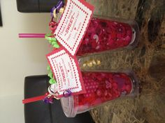 valentines gifts for daycare teachers cups from walmart and pink white and red candy - Walmart Valentine Gifts