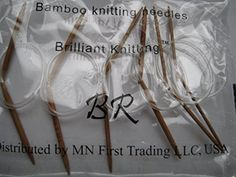 6 BrilliantKnitting BR brand Bamboo Circular Knitting NeedlesUS 05 length 12 inches ** Check out the image by visiting the link.Note:It is affiliate link to Amazon.