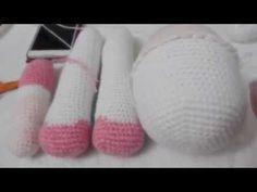 Passo a Passo da Boneca de Crochê: Como fazer do busto ao bumbum da boneca sem costuras (PASSO 3) - YouTube