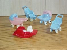 Lot of Thomas & Acme Doll House Baby by NewEnglandYesterdays