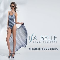 Per un seaside luxury il costume intero IsaBelleBySamoG è tres chic