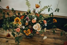 Thuya Studio is a full-service wedding florist and creative design studio available for events, editorial and environmental design in Toronto, Hamilton, Niagara and Muskoka. Environmental Design, Creative Design, Amber, Floral Wreath, Palette, Peach, Wreaths, Mood, Wedding