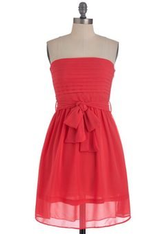 Ultra Marina Dress in Coral, #ModCloth