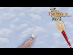 Clouds - The Fastest Way To Paint Them Ever! (How To Paint Walls) #FauxPainting - YouTube