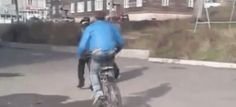 BOY ON BIKE DECIDES TO MESS WITH ELDERLY MAN - IMMEDIATELY REGRETS HIS DECISION - http://zogdaily.com/boy-bike-decides-mess-elderly-man-immediately-regrets-decision/