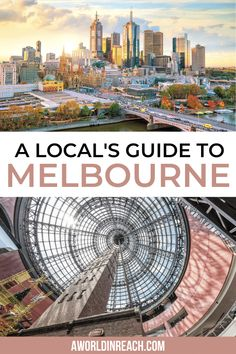 Melbourne is a must-see destination for any Australian itinerary. This local's guide to Melbourne has everything you need to know to plan your Melbourne itinerary / locals guide to Melbourne Australia / Melbourne travel guide / things to do in Melbourne / Melbourne Australia itinerary / what to eat in Melbourne / things to see in Melbourne / what to do in Melbourne / hidden gems in Melbourne / Australia travel tips / 3 days in Melbourne / Melbourne travel tips / secret places in Melbourne Australia Destinations, Australia Travel Guide, Visit Australia, Melbourne Australia, Australia Trip, Melbourne Travel, Visit Melbourne, Travel Guides, Travel Tips