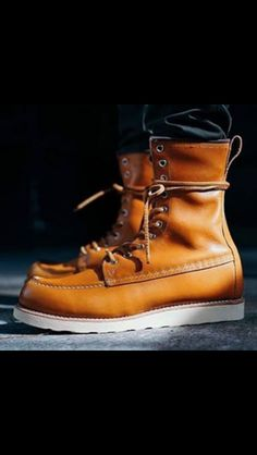 Mens Lace Up Boots, Denim Boots, Jeans And Boots, Fashion Boots, Mens Fashion, Red Wing Boots, Moda Casual, Cool Boots, Dress With Boots