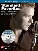 Standard Favorites - Audition Songs for Male Singers (Softcover with CD)