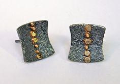 Sydney Lynch Shadow Earrings available at www.poppyarts.com!  $220  #sydneylynch #poppymadebyhand