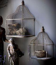 Metal Bird Cages   Bird Cage Decor   Decorative Bird Cages   Wall Hanging Bird Cages