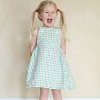 The Sydney Pinafore - Girl's dress tutorial and free pattern