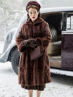 Claire Foy As Queen Elizabeth in The Crown