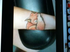 Ugh I want this sleeping fox tattoo so bad!