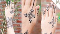 Special and Easy Mehndi Design for Eid / Mehendi Training Center Eid Mehndi Designs, Stylish Mehndi Designs, Mehndi Video, Simple Henna Tattoo, Easy Mehndi, Wrist Tattoos, Mehendi, Training, Youtube