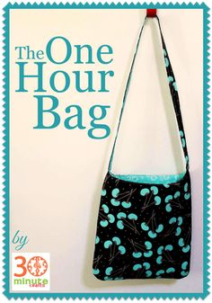 The One Hour Bag Free Sewing Tutorial
