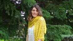 Yellow soft shawl!