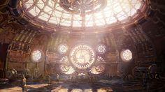 steampunk interior design - Google Search