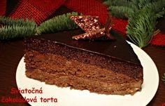 Sviatočná čokoládová torta (fotorecept) - obrázok 14