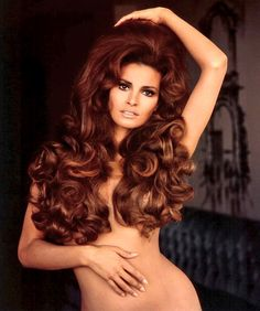 Raquel Welch had such incredible hair that she has her own line of wigs!