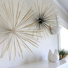 DIY Boom Wall Sculpture