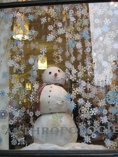 Anthropologie Christmas windows - Google Search