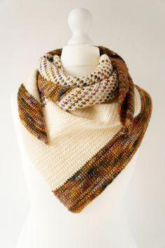 Bonfire Night Shawl Crochet pattern PDF Tutorial by LittleDoolally