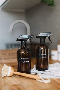 DIY Natural Cleaning Products That Work Check out these natural cleaning recipes for homemade hand sanitizer, disinfectant spray, produce wash, liquid hand…
