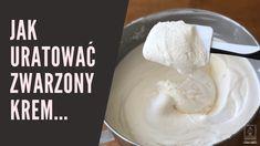 ZwarzonyKrem Icing, Cake Recipes, Food And Drink, Cheese, How To Make, God, Tips, Mascarpone, Dios