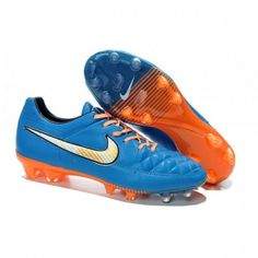 crampons de football des jeunes Nike rouge