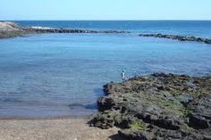 piscina natural de arinaga en gran canaria.