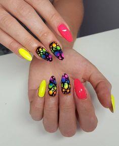 Summer Nail Art 312085449178731601 - 24 Funky Summer Nail Designs Source by alayacarla Neon Nail Art, Neon Nails, My Nails, Summer Nails Neon, Summer Toenails, Funky Nails, Cute Nails, Pretty Nails, Pink Nail Designs