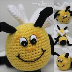 Summer is coming and clothes are getting shorter and shorter. Crochet Bee, Crochet Amigurumi, Crochet Food, Crochet Gifts, Crochet Things, Lidl, Diy Haken, Barbie, Sheep Wool