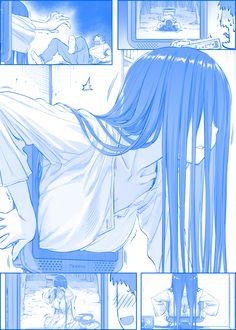 See more 'Sadako' images on Know Your Meme! Anime Comics, Comic Anime, Anime Meme, Kawaii Anime, Manga Art, Manga Anime, Anime Illustration, Anime Girls, Scary Images