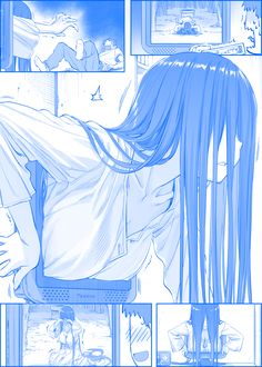See more 'Sadako' images on Know Your Meme! Manga Art, Manga Anime, Anime Art, Kawaii Anime Girl, Anime Girls, Scary Images, Manga Comics, Anime Meme, Cute Art