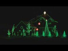 Carol of the Bells 2007 - Holdman Christmas Lights - YouTube