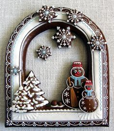 inspirace Dana Holmanová Christmas Sweets, Christmas Cookies, Xmas, Merry Christmas, Spice Cookies, Biscuit Cookies, Bake Sale, Edible Art, Sugar And Spice