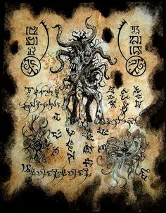 Shub Niggurath Incantations by MrZarono on DeviantArt Necronomicon Lovecraft, Lovecraft Cthulhu, Hp Lovecraft, Dark Books, Lovecraftian Horror, Satanic Art, Dark Artwork, Ange Demon, Templer