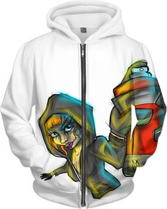 HEHE TAN Mens Pullover Hood Angry Panda Zip Hoodies Hooded Cool Jackets Coats