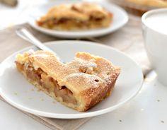 Szarlotka - mało ciasta, dużo jabłek