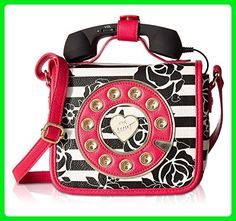 Betsey Johnson Women's Phone Bag Crossbody Stripe Crossbody Bag - Crossbody bags (*Amazon Partner-Link)