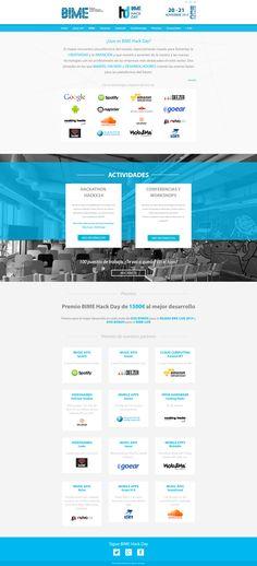 Diseño y desarrollo de Interzonas.info para BIME Hack Day www.bimehackday.net