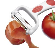 Westmark 10582280 3 in 1 Julienne and Vegetable Peeler, Tomato Peeler, Cutter, Slicer Kitchen Tools And Gadgets, Garlic Press, Blade, Llamas