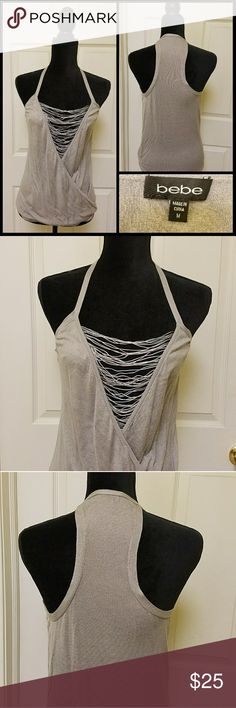 Bebe Knit Tank Top Sz M Perfect for Spring Good Condition, Odor Free bebe Tops Tank Tops