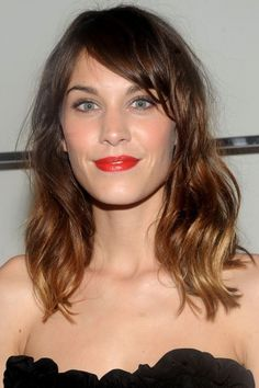 The Best Hair In Hollywood: Alexa Chung - Of course, the London It Girl would make it on our list. She spawned a mini army of ombré locks and made us fall in love with bedhead all over again. Alexa may seem like she doesn't put any thought into her mane, but we know better. Who else could start so many trends, or even pull off a messy ponytail so gracefully?