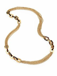 """36"""" overall w\ clasp. Could be done 2 ways for different groups: 1. All chain 2. Alternating chain sections and bead sections"""