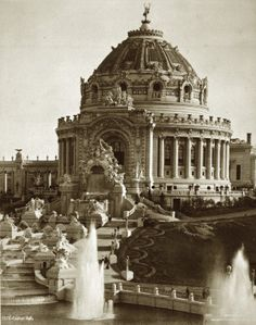 Festival Hall at the 1904 World's Fair. Official Photographic Company.