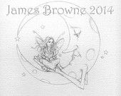 James Browne  - printable coloring pages on Etsy -